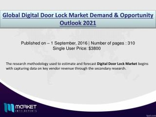 Digital Door Lock Market: Security and video surveillance to have the highest CAGR growth