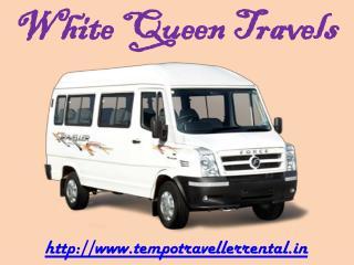 Tempo Traveller on Rent, Hire tempo traveller delhi, book tempo traveller online