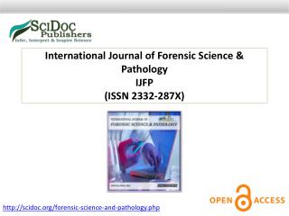 International Journal of Forensic Science & Pathology ISSN 2332-287X