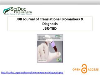 JBR Journal of Translational Biomarkers & Diagnosis