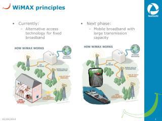 WiMAX principles