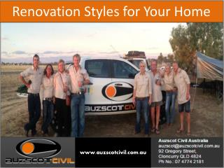 Best Renovations Services in Townsville