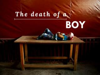 The death of a boy