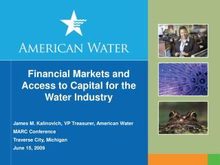 Financial Markets and Access to Capital for the  Water Industry