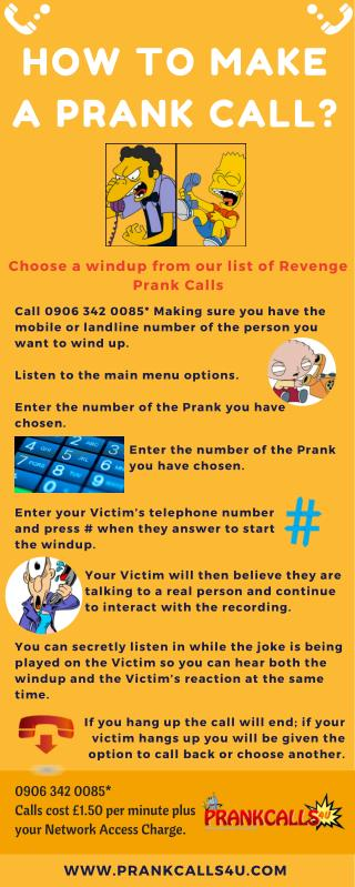 How to Make Prank Calls - PrankCallus4u