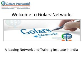 MCSE Training at golarsnetworks