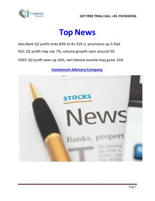 Stock Commodity Market News- TradeIndia Research