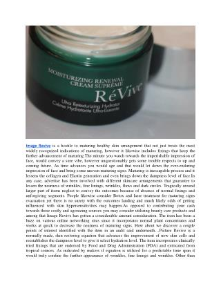 http://www.healthyapplechat.com/image-revive-reviews/