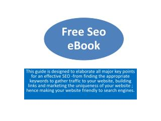 SEO Free eBook