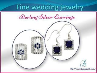 Fine wedding jewelry