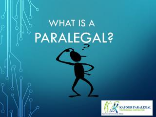 Paralegal Services in Mississauga - What is Paralegal?