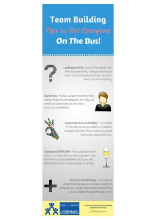 Team Building Tips to Get Everyone On The Bus