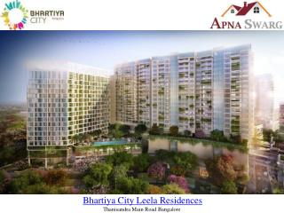 Bhartiya City Leela Residences in Bangalore