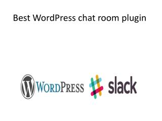 Best WordPress chat room plugin