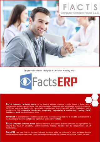 FactsERP-Product Brochure 2016