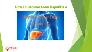 3 convenient remedies to recover from Hepatitis A