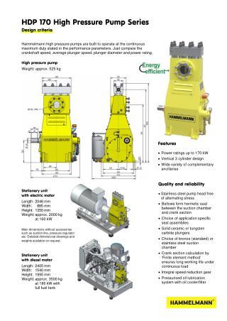 High Pressure Pump 170