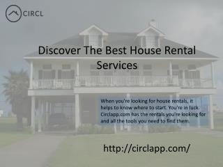 CIRCLAPP | Best House Rental Services in Toronto