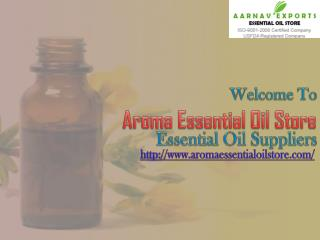 Aroma Essential Oil Store: Collect Mint Oils & Massage and Spa Oils Online