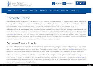 Corporate Loan Companies in India