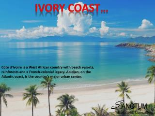 Apply for Ivory Coast Visit and Tourist Visa