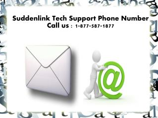 SUDDENLINK TECHNICAL SUPPORT PHONE NUMBER PPT
