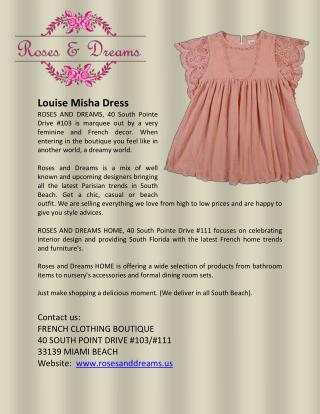 Louise Misha Dress