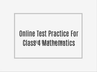 Online Test Practice For Class 6 History