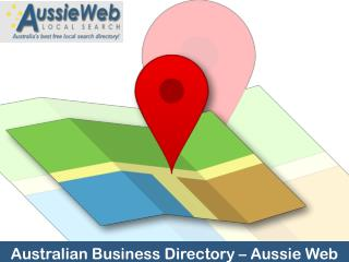 Australian Business Directory – Aussie Web