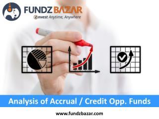 Credit Opportunity Funds - FundzBazar