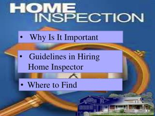 Utah Real Estate Home Inspection