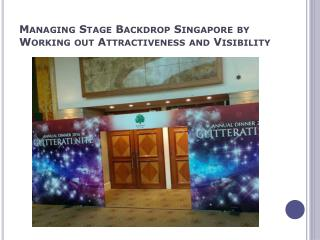 Exhibition Backdrop