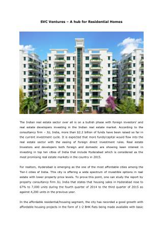 svc ventures - a hub for residential homes