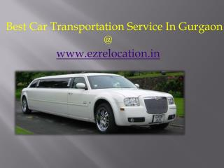 Car Transportation Service in Gurgaon