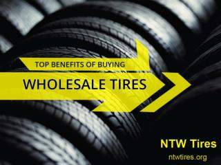 Amazing Benefits of Buying Wholesale Tires