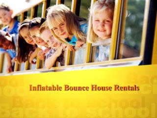 Inflatable Bounce House Rentals