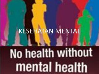 Kesehatan Mental dalam Prerspektif Islam