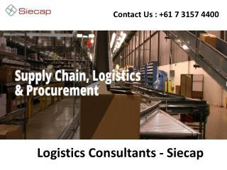 Logistics Consultants –Siecap