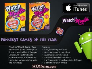 Watch Ya' Mouth - Funniest Games of the Year