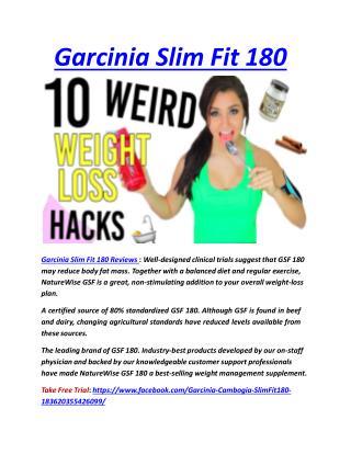 Garcinia Slim Fit 180