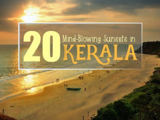 20 Mind-Blowing Sunsets in Kerala