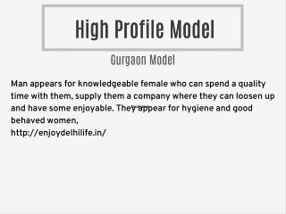 Model In Gurgaon
