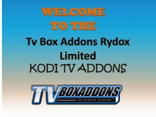 Kodi Tv Addons is Best Addons for Live Tv and Sports