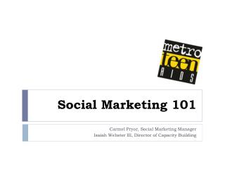 Social Marketing 101