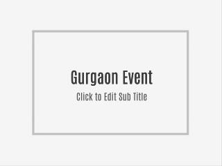 enjoy With Gurgaon Event