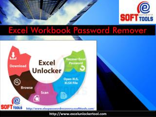 Excel Workbook Password Remover tool