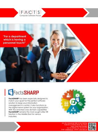 FactsSHARP-Product Brochure 2016.