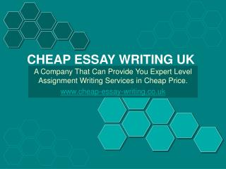 Best Assignment Writing Services UK in Most Cheap Price