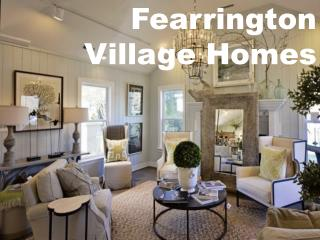 Offer Top Classic Fearrington Village Homes