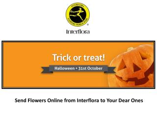 Send Flowers Online from Interflora to Your Dear Ones